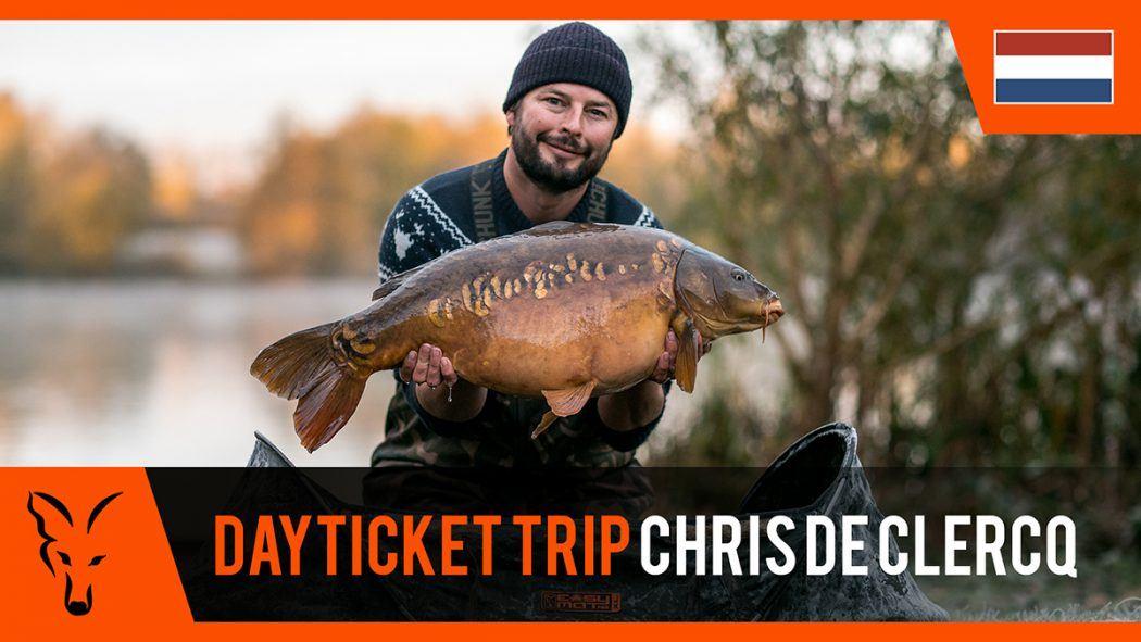 Topvideo: Karpervissen in de UK met Chris de Clercq