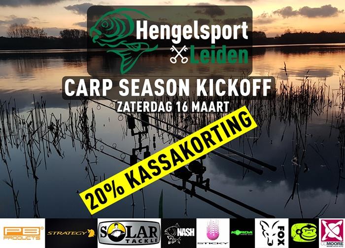 Kassakorting Hengelsport Leiden kickoff
