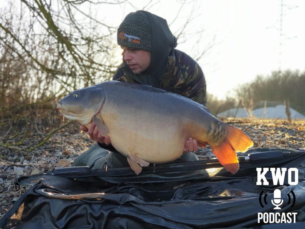 KWO Podcast # 20   Rene Treffers over spuiten, rollen, big game, mais, maden en zijn bizarre drive om overal maximaal te gaan voor grote vis!