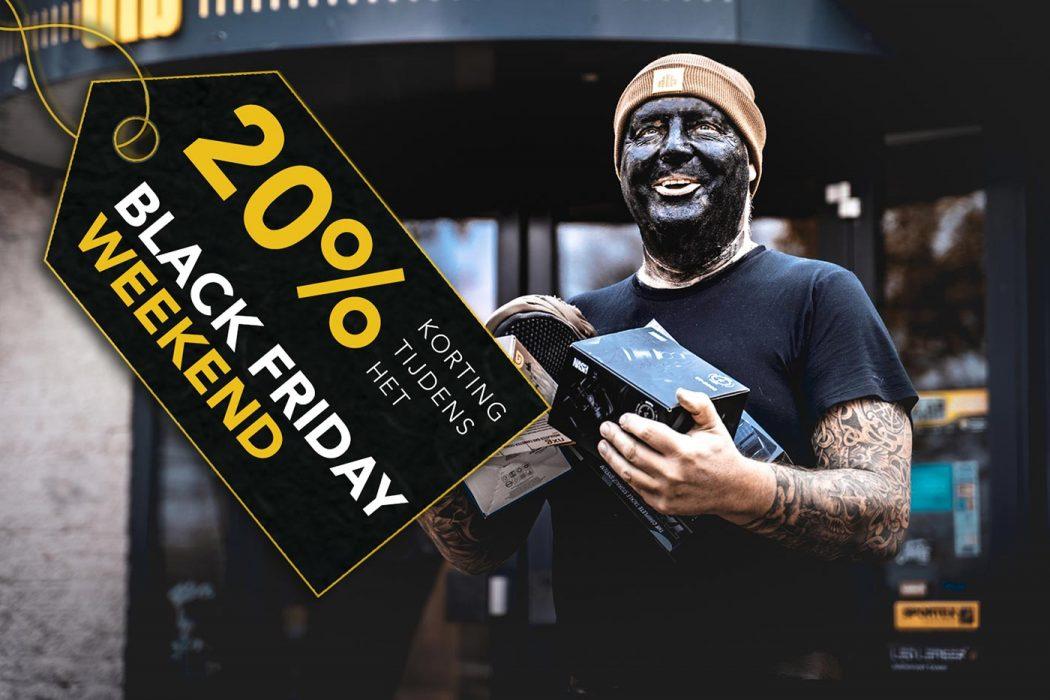 Scoor 20% korting tijdens het Black Friday weekend bij De Tacklebox!