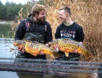 Wintervissen met Sjors en Willem Kwinten | Tips, rigs, techniek en dieptemeter tricks!
