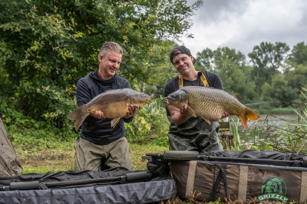 Succesvol vissen in het najaar met Mario Gijbels en David Wouters